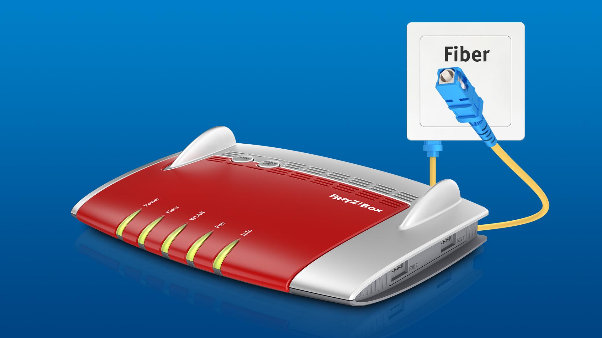 Routerfreiheit gilt laut Bundesnetzagentur auch für FTTH. (Bild: AVM)